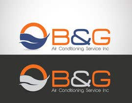 nº 53 pour Design a Logo for B&G Air Conditioning Service Inc par Don67