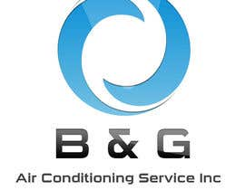 #73 cho Design a Logo for B&G Air Conditioning Service Inc bởi VEEGRAPHICS