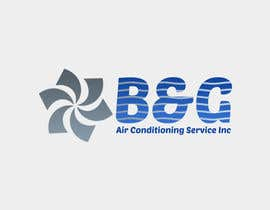 #55 untuk Design a Logo for B&G Air Conditioning Service Inc oleh vladspataroiu