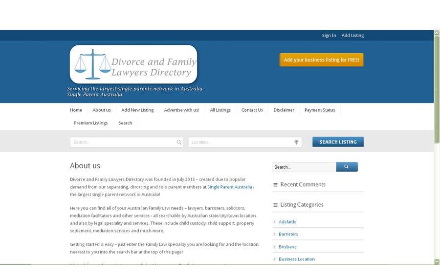 Penyertaan Peraduan #6 untuk Design a Logo for a new Directory