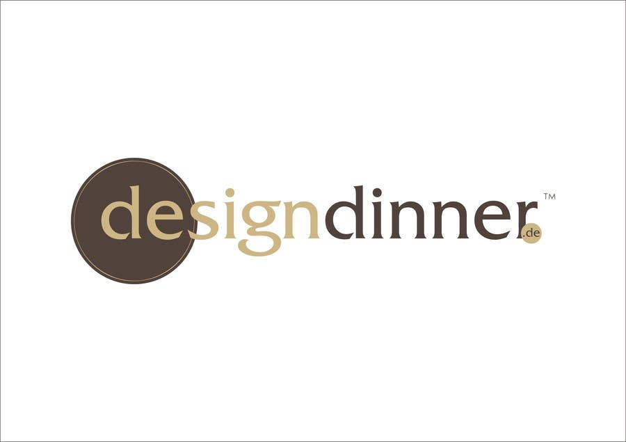 "#36 for Design eines Logos for  ""designdinner.de"" by iulian4d"