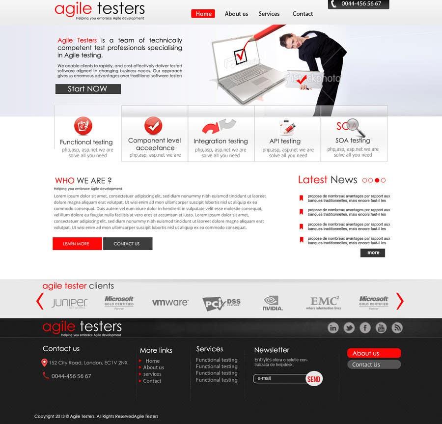 Inscrição nº 11 do Concurso para Redesign our company website