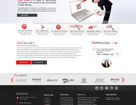 nº 32 pour Redesign our company website par marwamagdy