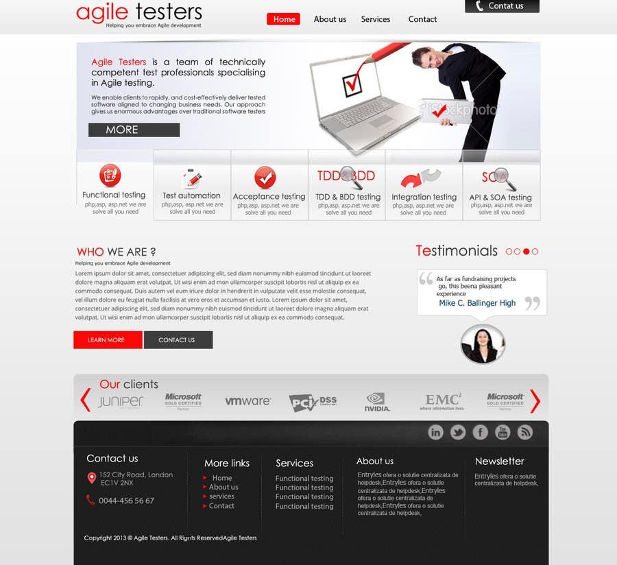 Inscrição nº 33 do Concurso para Redesign our company website
