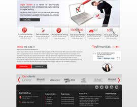 nº 33 pour Redesign our company website par marwamagdy