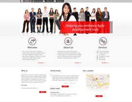 nº 38 pour Redesign our company website par grafixeu