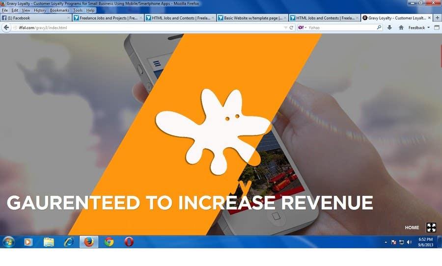 Inscrição nº 40 do Concurso para Redesign our company website