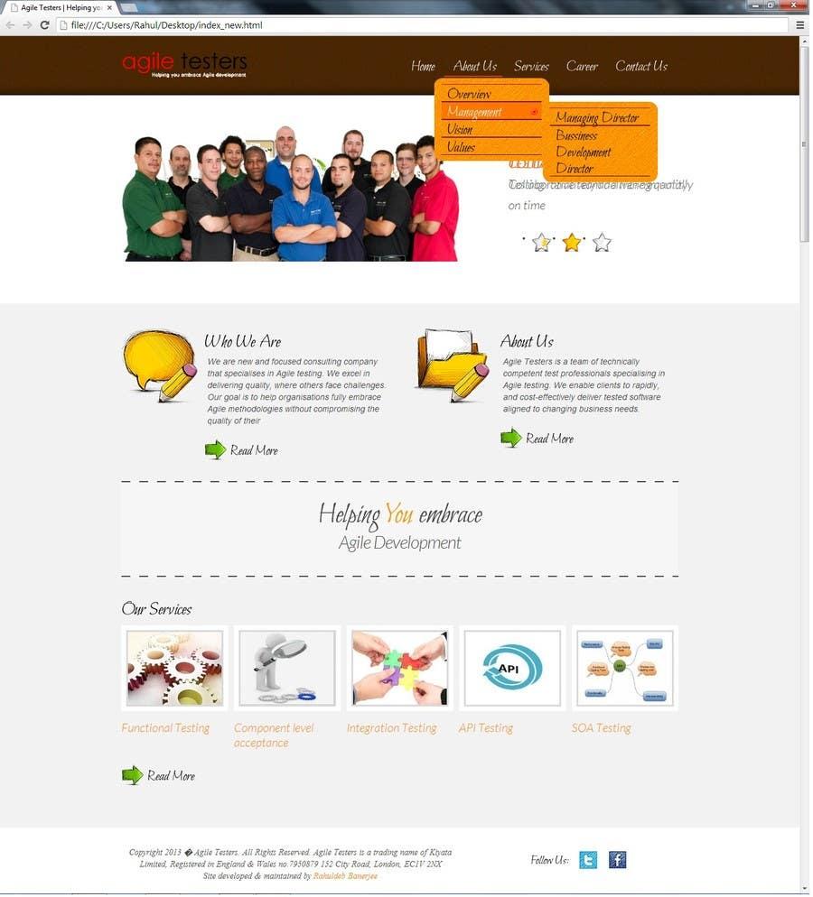 Inscrição nº 36 do Concurso para Redesign our company website