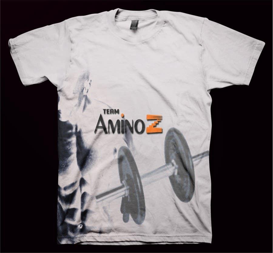 Inscrição nº 48 do Concurso para T-shirt Design for Amino Z