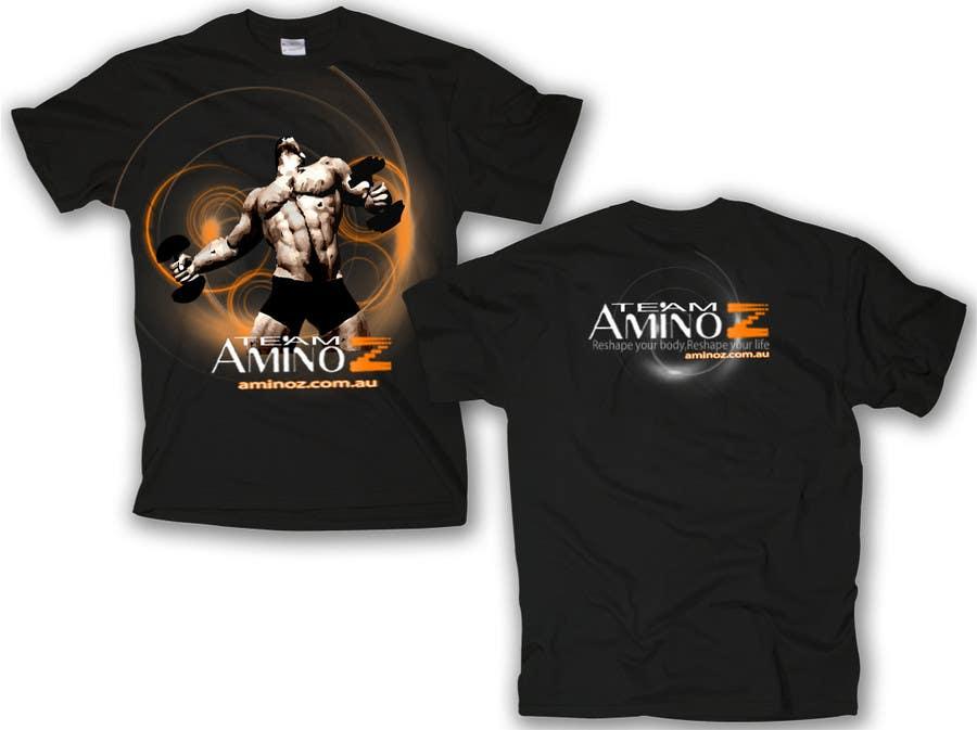 Inscrição nº 62 do Concurso para T-shirt Design for Amino Z