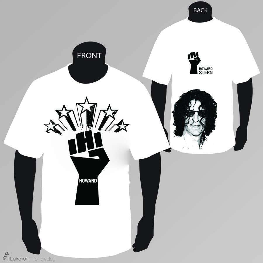 Proposition n°28 du concours Design a T-Shirt for The Howard Stern Show