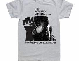 nº 64 pour Design a T-Shirt for The Howard Stern Show par quangarena