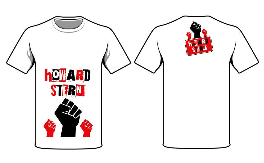Proposition n°37 du concours Design a T-Shirt for The Howard Stern Show