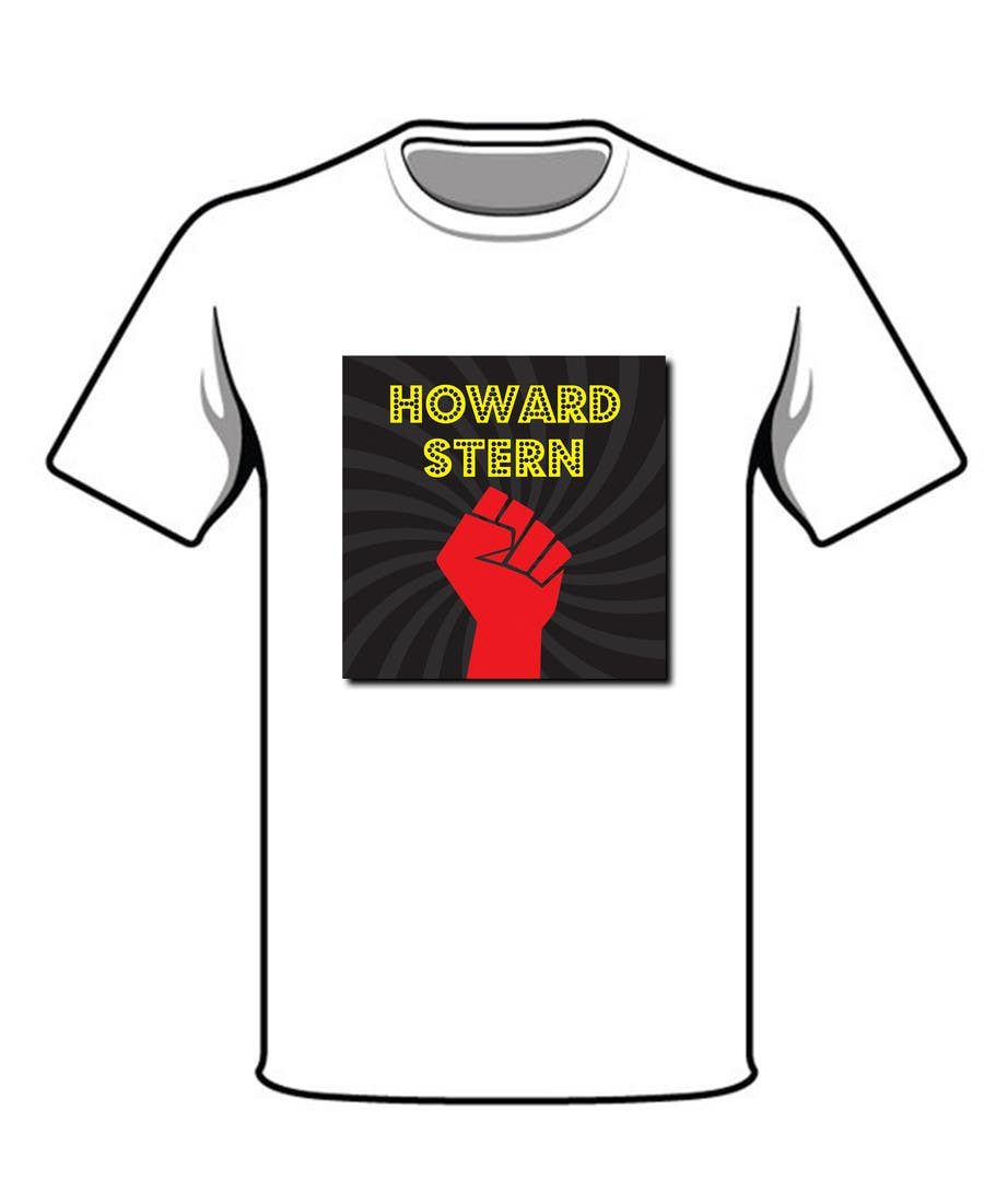 Proposition n°38 du concours Design a T-Shirt for The Howard Stern Show