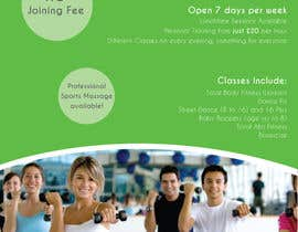 nº 11 pour Design a Flyer for Health Gym / Sports Gym par mmorella