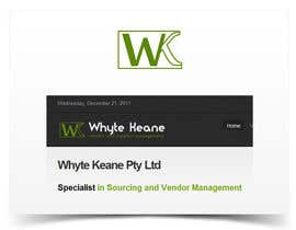 #711 für Logo Design for Whyte Keane Pty Ltd von AndreiSuciu