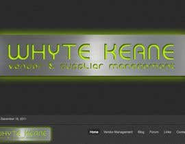 #614 para Logo Design for Whyte Keane Pty Ltd por GlenTimms