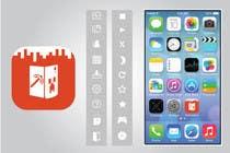 Bài tham dự #25 về Graphic Design cho cuộc thi (Re-)Design icons of iOS app for usage iOS 7