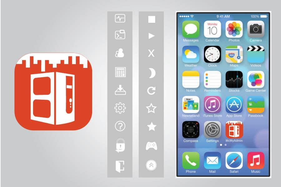 Bài tham dự cuộc thi #                                        26                                      cho                                         (Re-)Design icons of iOS app for usage iOS 7