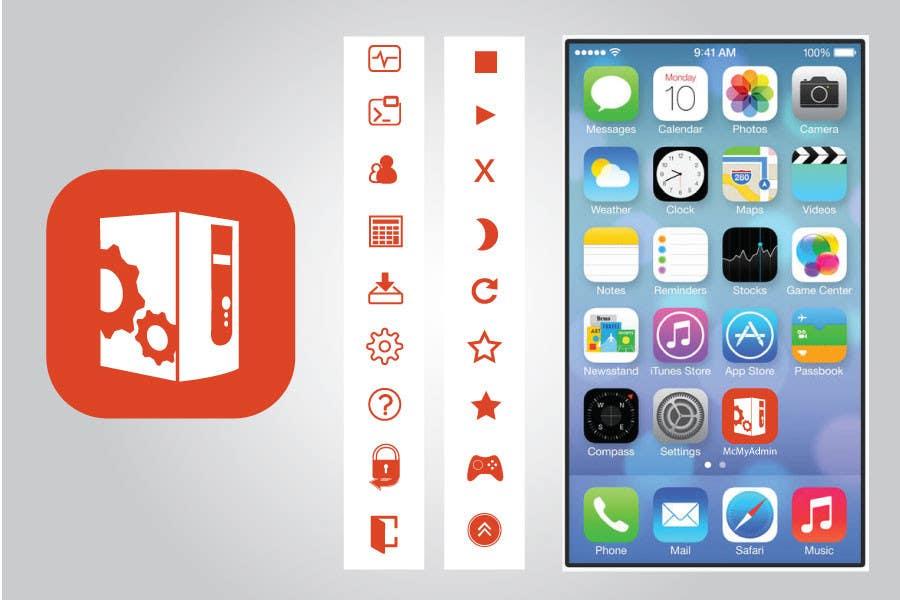 Bài tham dự cuộc thi #                                        28                                      cho                                         (Re-)Design icons of iOS app for usage iOS 7