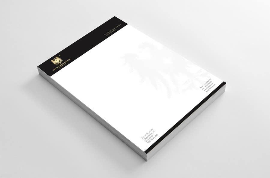 #4 for Letterhead paper for The 7th Lord Studios by LogoMass