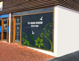 nº 43 pour I need some Graphic Design for shop front window of Eco Dental Surgery par jamshaidrazaCG