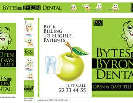 nº 40 pour I need some Graphic Design for shop front window of Eco Dental Surgery par habeeb213