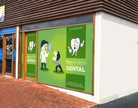 #13 para I need some Graphic Design for shop front window of Eco Dental Surgery por Surafreelancer