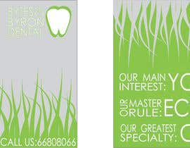 nº 45 pour I need some Graphic Design for shop front window of Eco Dental Surgery par ArqJM