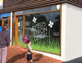 nº 49 pour I need some Graphic Design for shop front window of Eco Dental Surgery par ArqJM