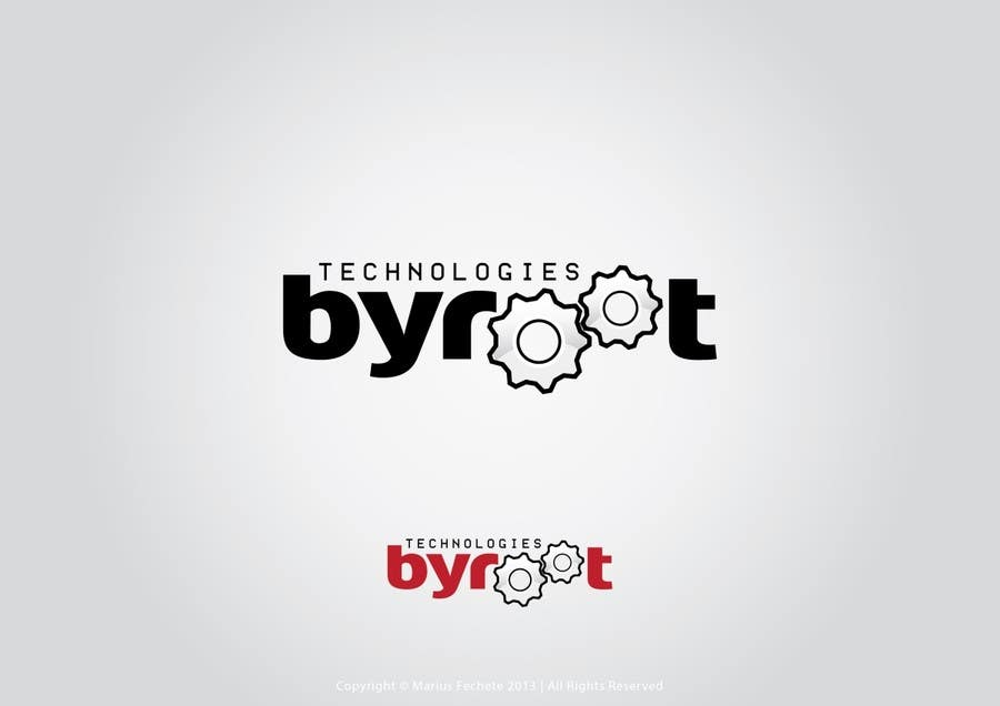 #75 for Develop a Corporate Identity for byroot Technologies by mariusfechete