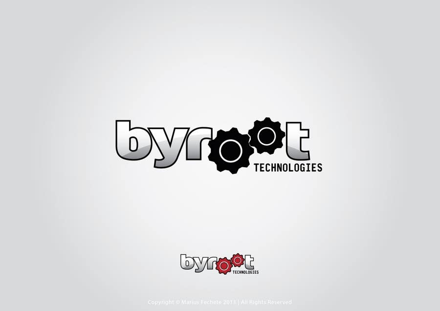 #76 for Develop a Corporate Identity for byroot Technologies by mariusfechete