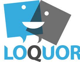 "crystaleyes54 tarafından Design a Logo for a mobile application ""Loquor"" için no 30"