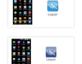 "#68 para Design a Logo for a mobile application ""Loquor"" por webngraphicgroup"