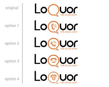 "#21 for Design a Logo for a mobile application ""Loquor"" by mekuig"