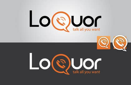 "#41 for Design a Logo for a mobile application ""Loquor"" by mekuig"