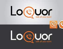 "mekuig tarafından Design a Logo for a mobile application ""Loquor"" için no 41"