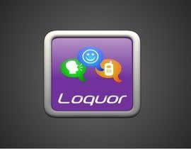 "riadbdkst tarafından Design a Logo for a mobile application ""Loquor"" için no 46"