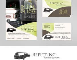 #27 para Design a  logo, business card and a flyer for  Hearse Rental Business por Simone97