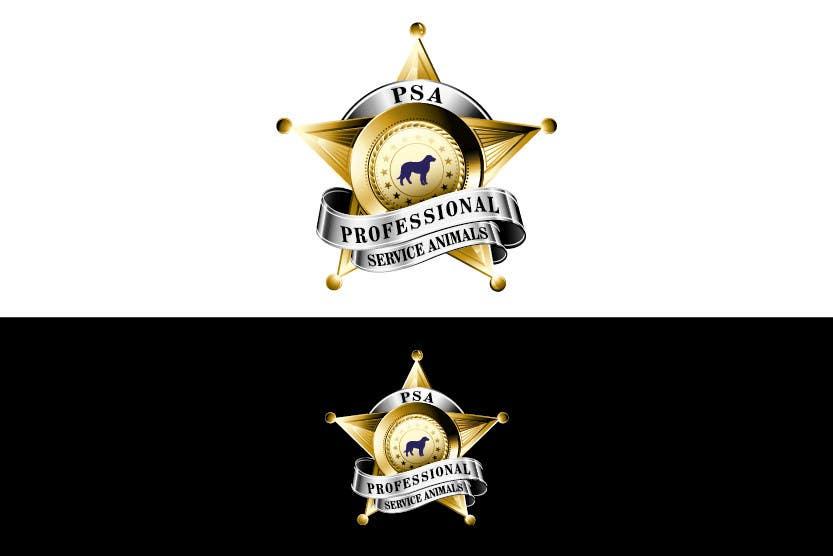 Bài tham dự cuộc thi #                                        17                                      cho                                         Design a Logo for PSA (Professional Service Animals)
