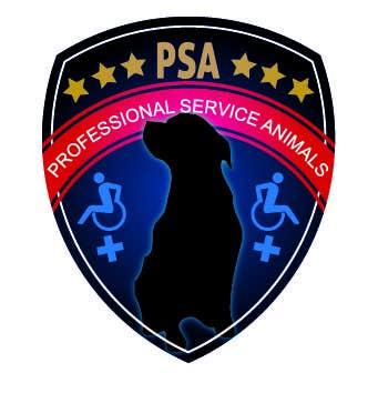 Bài tham dự cuộc thi #                                        27                                      cho                                         Design a Logo for PSA (Professional Service Animals)