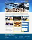 Graphic Design Kilpailutyö #3 kilpailuun Front page for legal website