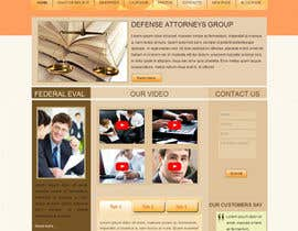 #5 para Front page for legal website por xahe36vw