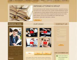 #6 para Front page for legal website por xahe36vw