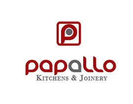 #18 untuk Design a Logo for Papallo Kitchens & Joinery oleh ginjin