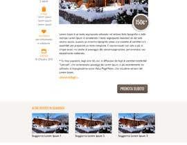 Nro 3 kilpailuun Disegnare la Bozza di un Sito Web for: offerte soggiorni (con attività) in località turistica di montagna käyttäjältä tety87