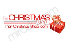nº 33 pour Design a Logo for That Christmas Shop.com par MiroslavMM