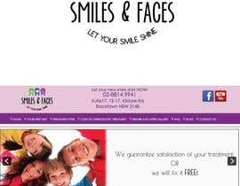 #32 untuk Design a Logo for Smiles & Faces Orthodontics oleh DandelionLab