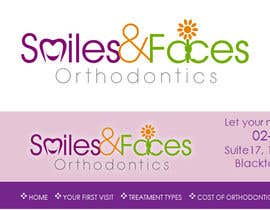 #78 cho Design a Logo for Smiles & Faces Orthodontics bởi suneshthakkar