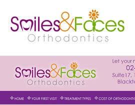 #78 untuk Design a Logo for Smiles & Faces Orthodontics oleh suneshthakkar